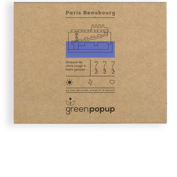 GreenPopup Paris Beaubourg Popup